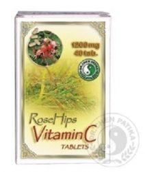 Dr. Chen C-Vitamin Csipkebogyó Kiv. 40 db