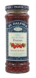 St. Dalfour lekvár francia recept szerint, eper 284 g