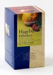 Sonnentor adagoló dobozos Bio teák, csipkebogyó hibiszkusz 18 filter