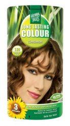 HennaPlus női tartós hajfesték, barna árnyalat, fahéj (7.38) (Long Lasting Colour, Cinnamon)