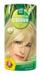 HennaPlus női tartós hajfesték, szőkés árnyalat, világosszőke (8) (Long Lasting Colour, Light Blond)