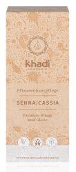 Khadi Növényi Hajápoló kúra, Senna/Cassia 100 g -- készlet erejéig, a termék lejárati ideje: 2019 májusa