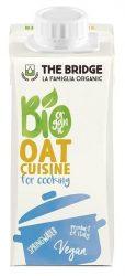 The Bridge Bio növényi tejszín, zabtejszín (főzőtejszín) 200 ml