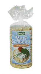 Byodo Bio kukoricaszelet, kukoricaszelet tengeri sóval (gluténmentes) 120 g