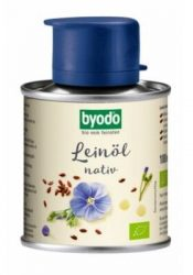 Byodo Bio olaj, lenolaj (nativ-szűz) (lenmagolaj) 100 ml