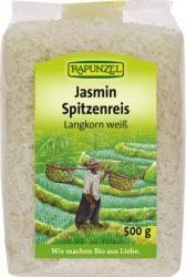 Rapunzel Bio rizs, jázmin rizs, hosszúszemű, fehér 500 g