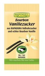 Rapunzel Bio fűszerek, Bourbon vaníliás cukor nádcukorból 8 g