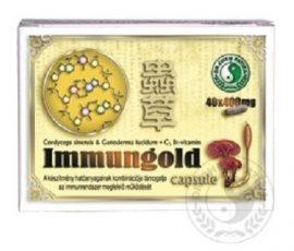 Dr.Chen Immunogold Kapszula 40 db