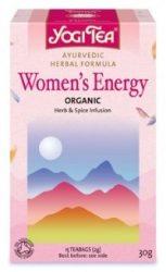 YOGI TEA - Yogi női és férfi tea, Női energia 17 filter 30 g - Bio tea