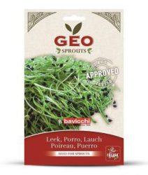 GEO Bio póréhagyma csíráztatáshoz 10 g -- készlet erejéig, a termék lejárati ideje: 2019 júniusa