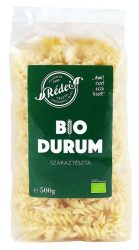 Rédei Bio Tészta Durum Fehér Orsó 500 g -- készlet erejéig, a termék lejárati ideje: 2019.02.08.