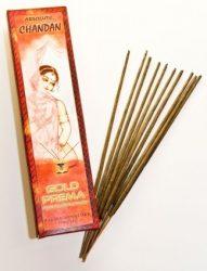 Chandan füstölő Gold Prema 10 szál