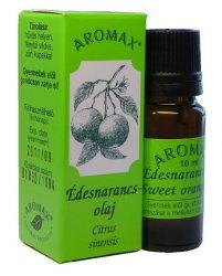 Aromax illóolaj, Édesnarancsolaj (Citrus sinensis, syn.: Citrus aurantium var. dulcis) 10 ml