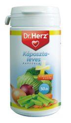Dr. Herz Káposztaleves Kapszula 50 db -- készlet erejéig, a termék lejárati ideje: 2018 augusztusa