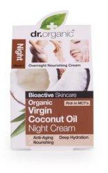 Dr. Organic Bio Kókuszolaj, Éjszakai krém bio szűz kókuszolajjal 50 ml