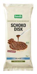 Byodo Bio csokis rizsszelet, Chocko Disk tejcsokis 4 szelet (Schoko disk) 4*65 g