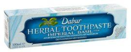 Dabur ayurvédikus fogkrém, Basil-Bazsalikomos (kék) 100 g