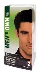 Henna Plus Men's Own Férfi Hajfesték, fekete 40 ml