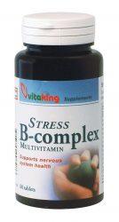 VitaKing B-vitamin, Stressz B-komplex tabletta 60 db (VK828)