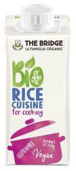 The Bridge Bio növényi tejszín, rizskrém (főzőtejszín) rizstejszín (laktóz és gluténmentes) 200 ml