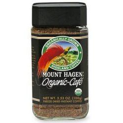 Mount Hagen Bio kávé, instant 100 g