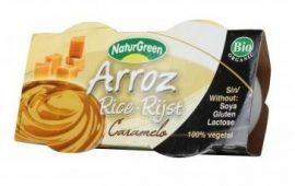 NaturGreen Bio rizspuding, karamell 2*125 g