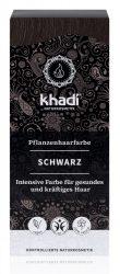 Khadi Növényi hajfesték por, Fekete 100 g