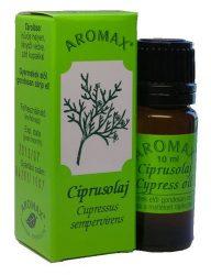 Aromax illóolaj, Ciprusolaj (Cupressus sempervirens) 10 ml -- készlet erejéig, a termék lejárati ideje: 2019 január hónap