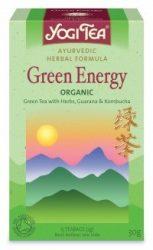 YOGI TEA - Yogi zöld tea, Zöld energia 17 filter 30 g - Bio tea