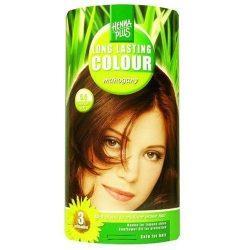 HennaPlus női tartós hajfesték, vörös árnyalat, mahagóni (5.5) (Long Lasting Colour, Mahagony)