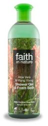 Faith in Nature Bio Aloe vera és ylang-ylang tusfürdő 400 ml