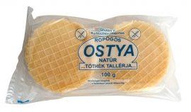 Tóthék Gluténmentes Tallérja, Natúr ropogós ostya 100 g