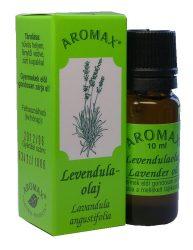 Aromax illóolaj, Levendula illóolaj (Lavandula angustifolia, syn.: L. vera) 10 ml
