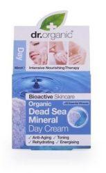 Dr. Organic Bio Holt-tengeri só, Nappali krém természetes Holt-tengeri ásványokkal 50 ml