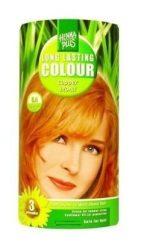 HennaPlus női tartós hajfesték, szőkés árnyalat, rézszőke (8.4) (Long Lasting Colour, Coper Blond)