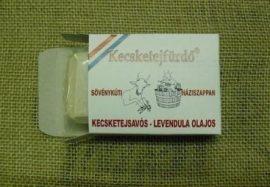 Sövénykúti kecsketejfürdő, Kecsketejsavós - Levendula olajos háziszappan (szárazbőrűeknek) 100 g