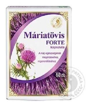 Dr.Chen Máriatövis Forte Kapszula 60 db