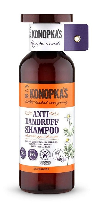 Dr. Konopka's Korpásodás elleni sampon 500 ml