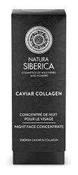 Natura Siberica Caviar Collagen Éjszakai arckrém koncentrátum - Érett bőrre 30 ml