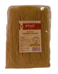 Naturgold Ökológiai tönköly tészta, teljesőrlésű cérnametélt, barna 250 g -- készlet erejéig, a termék lejárati ideje: 2021.04.10.