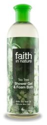 Faith in Nature Teafa tusfürdő 400 ml