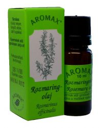 Aromax illóolaj, Rozmaring illóolaj (Rosmarinus officinalis) 10 ml -- készlet erejéig, a termék lejárati ideje: 2020 februárja