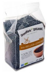 Greenmark Bio Lencse Beluga Fekete 500 g