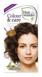 Hairwonder hajfesték, Colour & Care 5. Világosbarna 100 ml