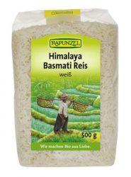 Rapunzel Bio rizs, Himalaya basmati rizs, fehér 500 g