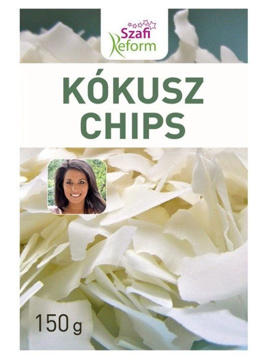 Szafi Fitt Kókusz Chips 150 g