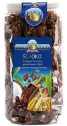 Bioking Bio Csokoládés-Mogyorós Müzli 375 g
