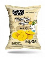 Samai Plantain Chips Fokhagyma 75 g