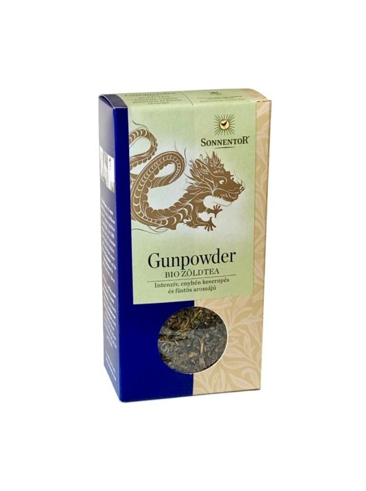 Sonnentor Bio Gunpowder kínai zöld tea - szálas 100 g