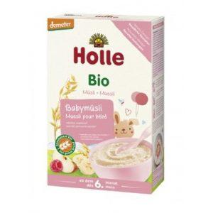 Holle Bio gabonapelyhek babáknak, müzli babáknak, glutén tartalmú 250 g